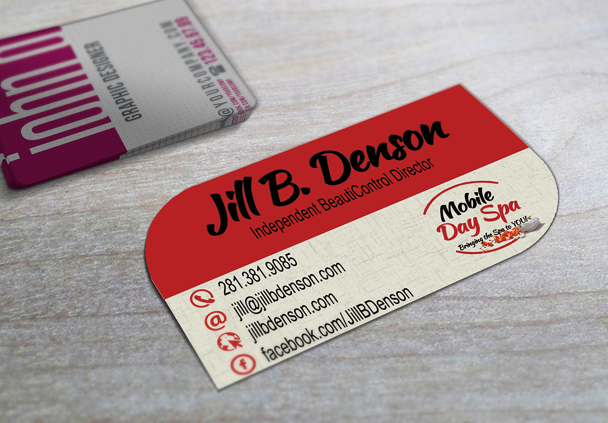 Leaf Shaped Business Cards Business Cards Cypress